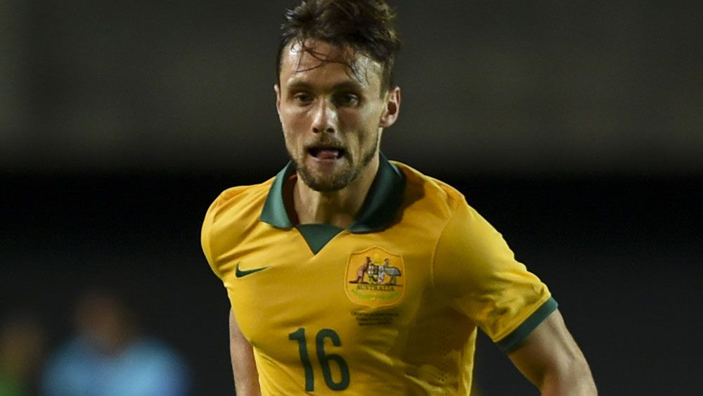 Fringe Socceroo James Holland. (AAP)