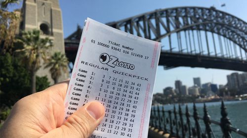 A Sydney man was unable to sleep last night after finding out he won $5 million.