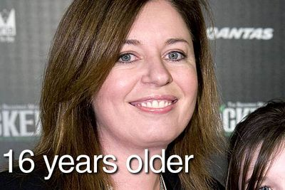Comedian and actress Gina Riley was 41 when <i>Kath & Kim</i> first hit screens, making her 16 years older than her hornbag character. In fact, she's only one year younger than Jane Turner, who plays her 50-something mother.