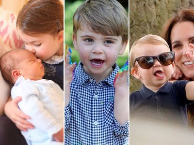 Prince Louis turns three: his cutest moments