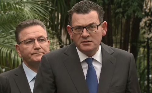 Mr Andrews said the nature of the crime should be a relevant factor in who is involved in these programs and extended his sympathies to the Cronin family. Picture: 9NEWS