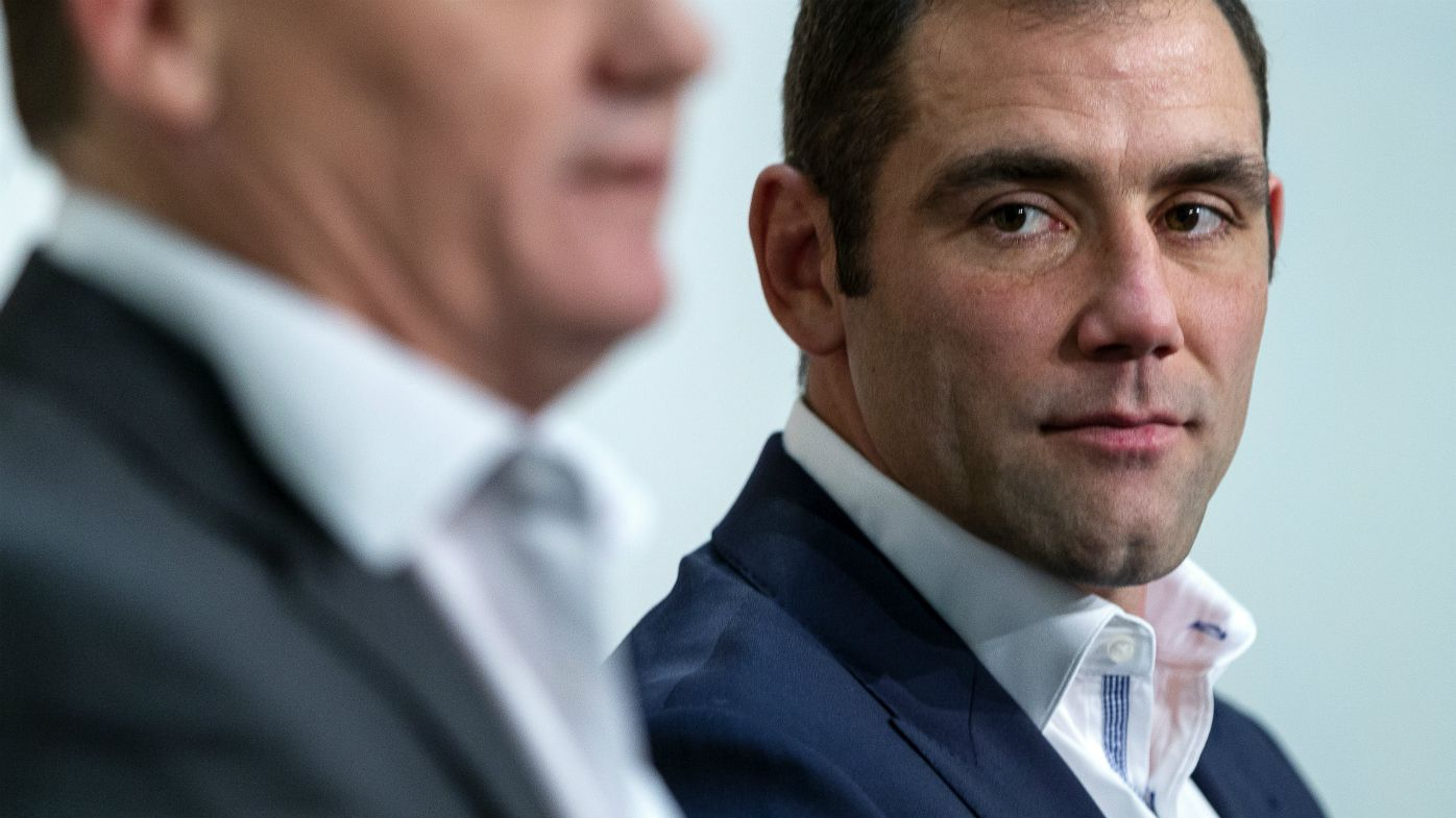 Queensland State of Origin captain Cameron Smith
