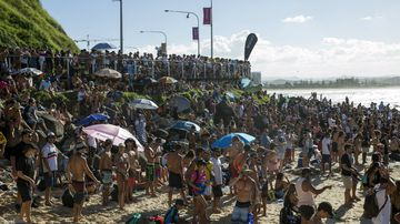 Changed Quiksilver Pro dates overlap with school holidays