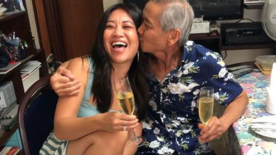 Today newsreader Tracy Vo returns to Perth to look after family
