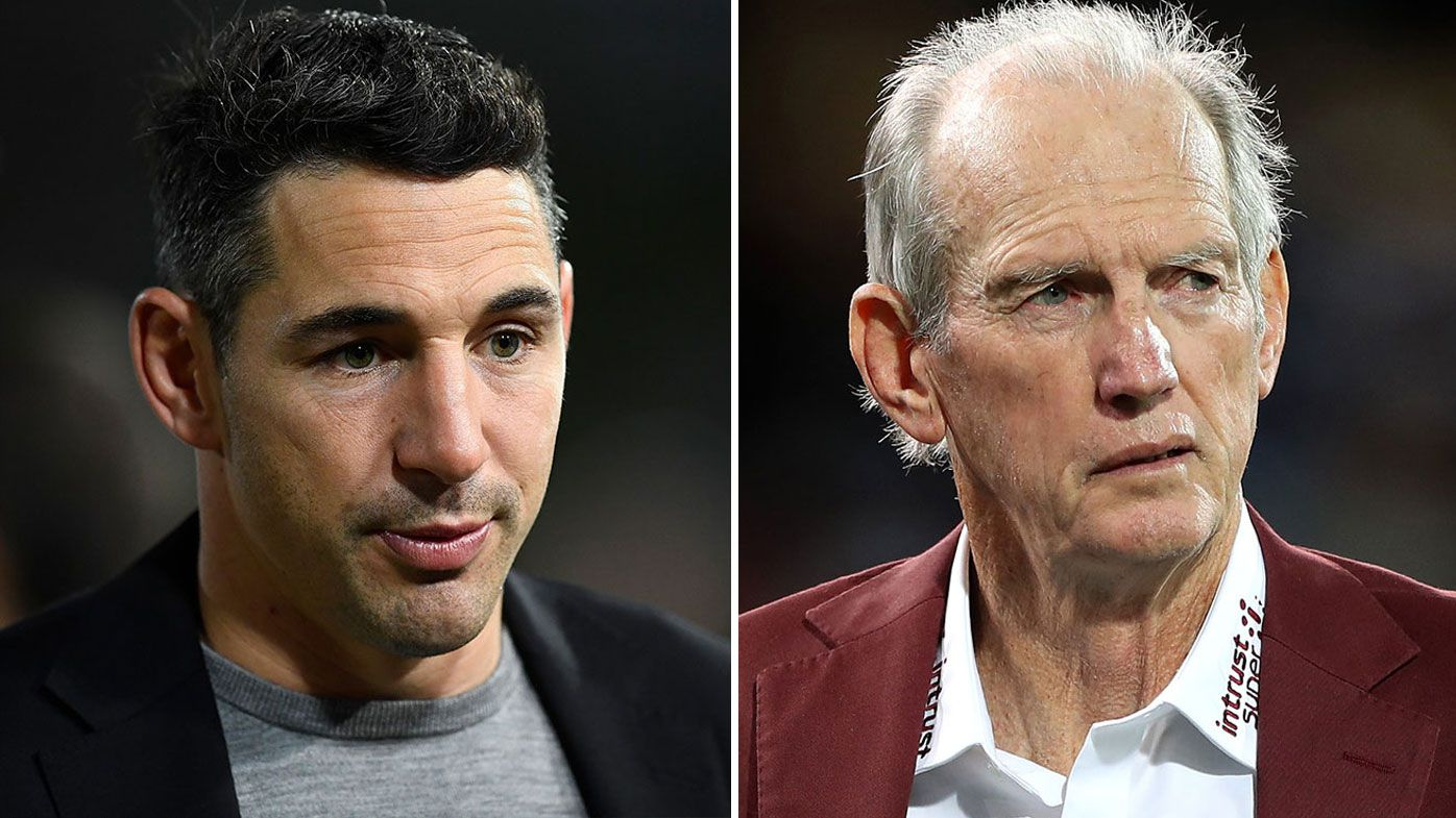 Slater is keen on Bennett coming in to Maroons camp to help Paul Green.