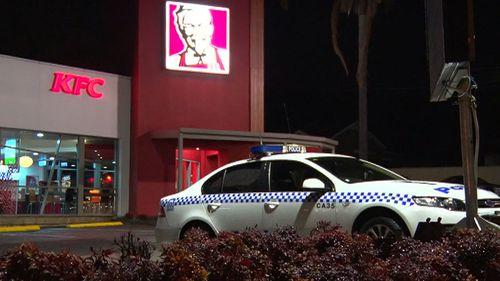 Chair thrown at female worker at western Sydney KFC