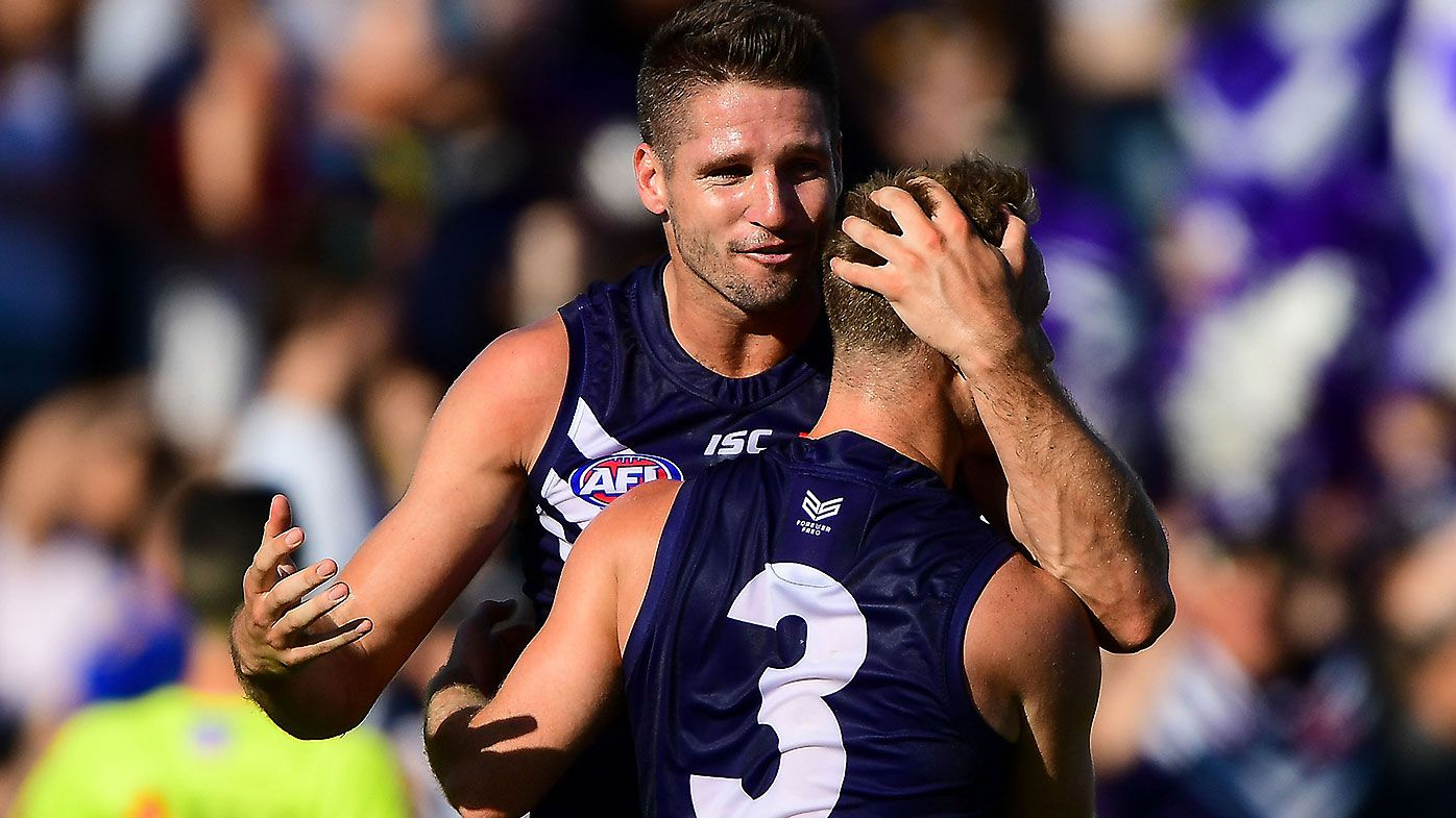 Fremantle forced into dropping 'clinical anxiety' term in reference to Jesse Hogan's condition