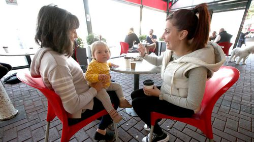Cafes in South Australia have only been able to serve customers outdoors in recent weeks.