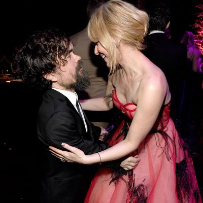 Peter Dinklage and Cara Buono