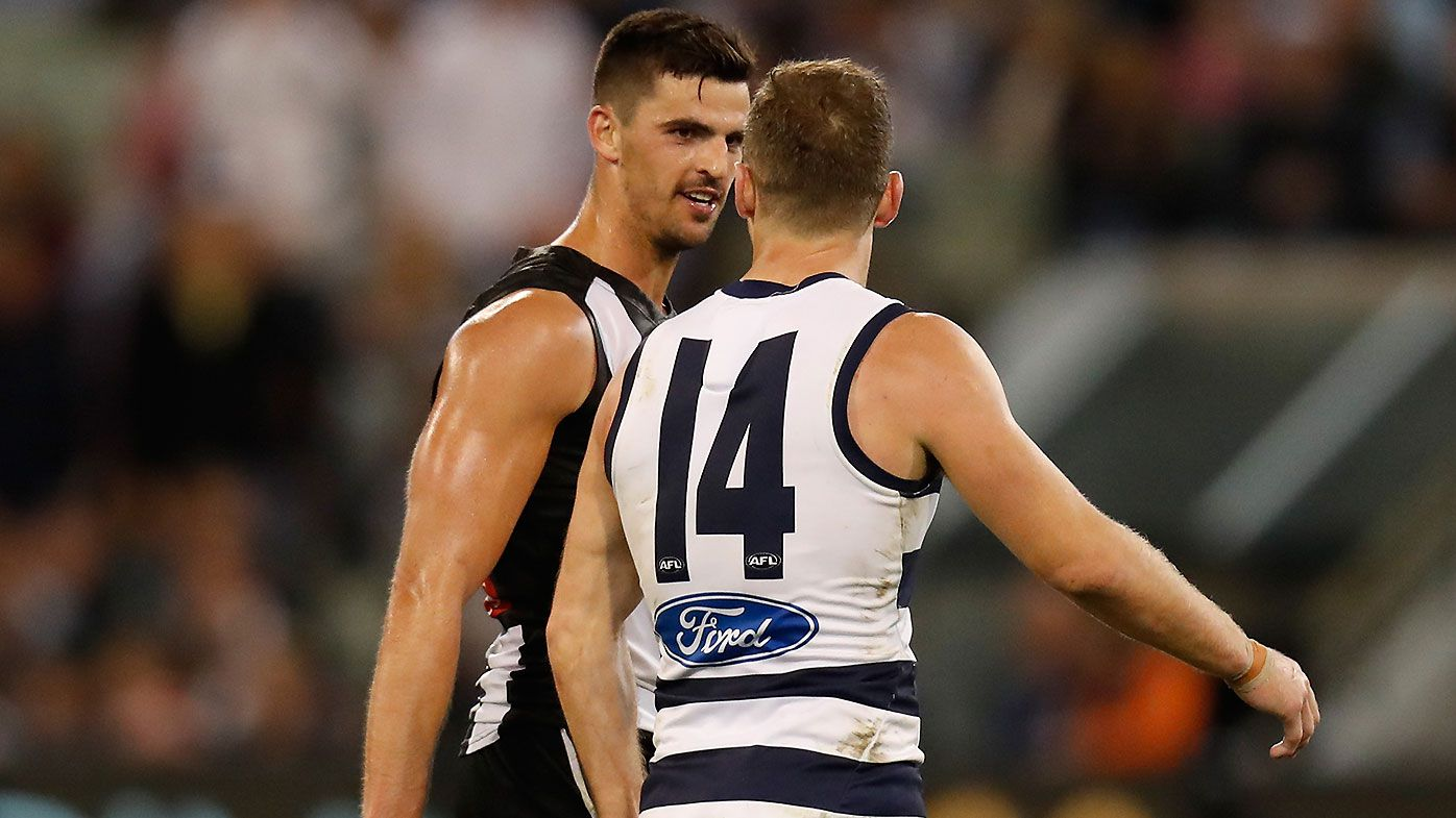 Collingwood and Geelong to be first interstate teams to head to Perth-based AFL hub