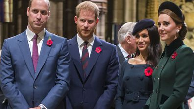 Royal discussions focused on repairing fractured family
