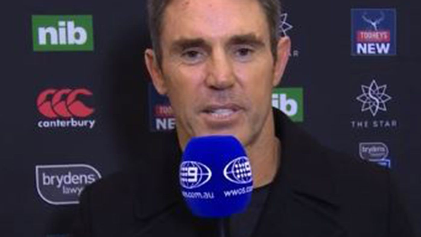 New South Wales State of Origin coach Brad Fittler