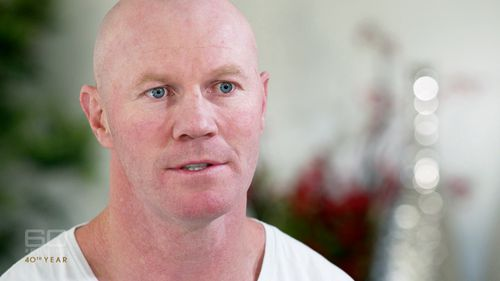 """""""I've got no income,"""" Hall revealed. Picture: 60 Minutes"""