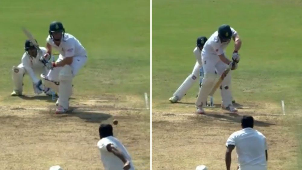 Ravi Ashwin delivers the ball of the year