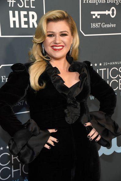 Kelly Clarkson, 25th Annual Critics' Choice Awards, January 12, 2020, Santa Monica