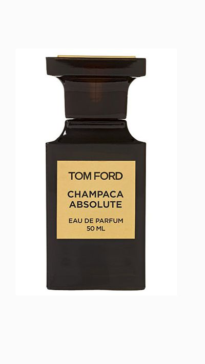 """<a href=""""http://www.tomford.com/champaca-absolute/T0-CHAMPACA-ABSOLUTE.html"""" target=""""_blank"""">Private Blend Champaca Absolute, $295 (50ml), Tom Ford </a><br><br>With this opulent, floral scent featuring tokaji wine (a Hungarian drop) and cognac, who needs a cellar?&nbsp;"""