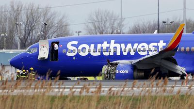'My wife said go': Man who helped dangling Southwest passenger