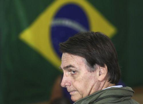 Far-right politician Jair Bolsonaro has been elected president of Brazil.