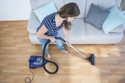 <strong>Vacuuming - 170 calories an hour</strong>