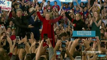 Clinton has edge on eve of US election