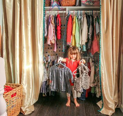 Woman unhappy mother in law dresses daughter in designer clothes