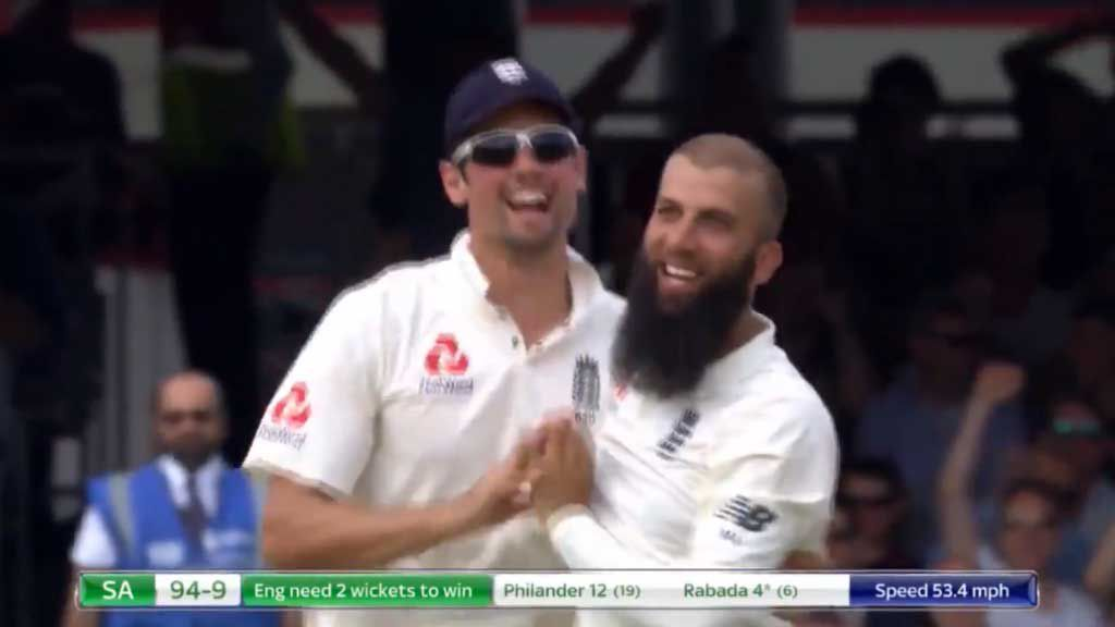 Moeen Ali writes his name into the history books