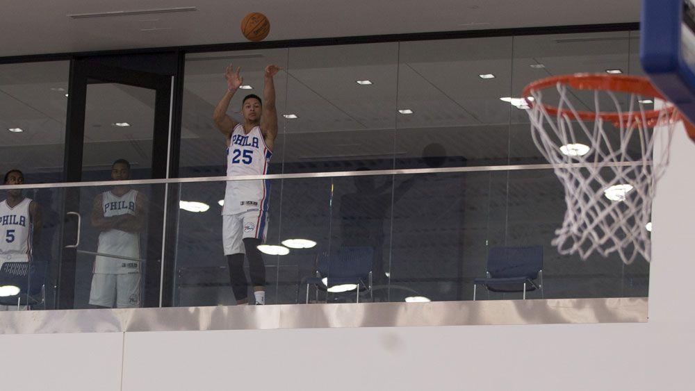Ben Simmons bulks up for NBA debut
