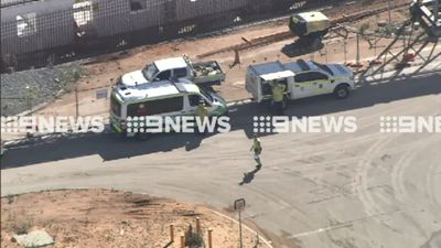 Man trapped and killed in workplace incident