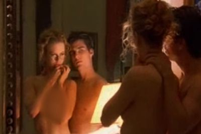 Various sex scenes, including the famous orgy, come to mind with Eyes Wide Shut. But this bedroom one is pretty yuck ...