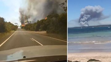 National park to stay closed as firefighters battle blaze