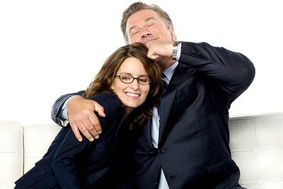 """<B>The URST:</B> There's no denying it — there's definitely chemistry between Liz Lemon (Tina Fey) and her boss Jack Donaghy (Alec Baldwin). But don't expect any scandalous hook-ups, as Fey's declared that a romance between the two is """"never gonna happen"""". Who says a guy and a girl can't just be friends?"""