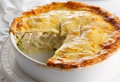 Friday: Chicken and leek pie