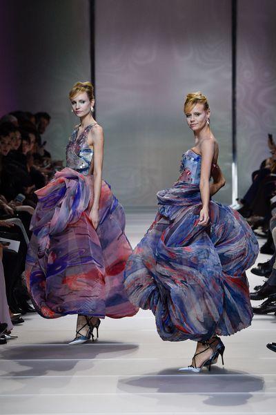 Giorgio Armani Prive Haute CoutureSpring Summer '18