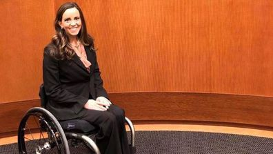 Kelley Simoneaux claims she was refused an Uber ride because of her wheelchair