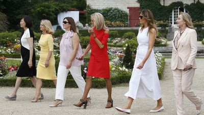 Jenny meets with other powerful women at G7 Summit
