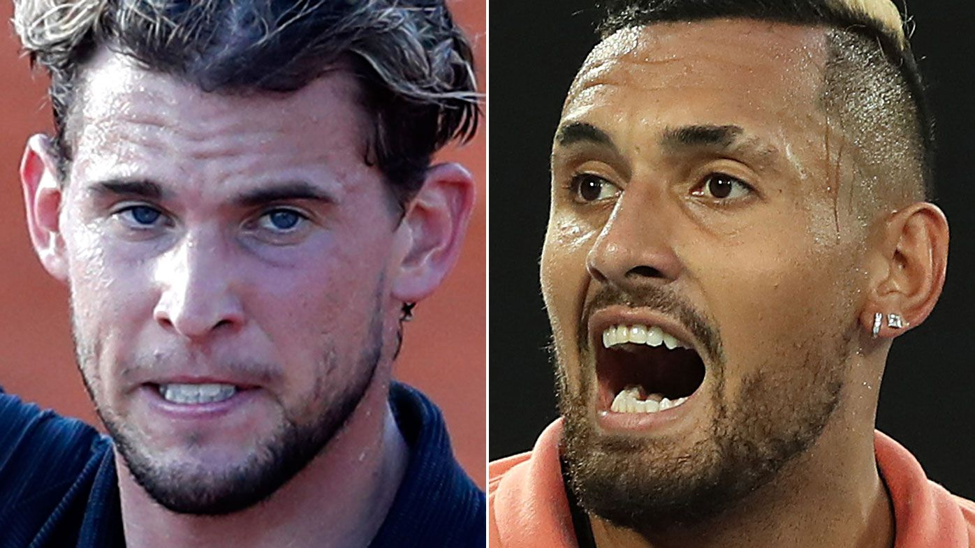 Kyrgios fires back at 'nonsense' blast from Thiem after defence of Zverev, Djokovic