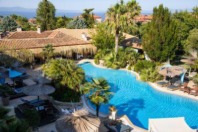 5. Achtis Hotel, Afitos, Greece
