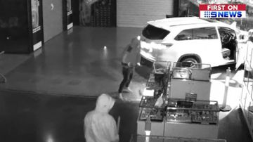 Thieves smash through shopping centre in jewellery heist