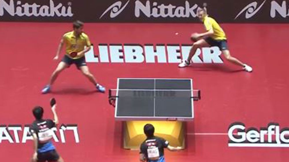 Epic rally at World Table Tennis Championships