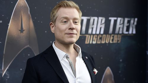 Anthony Rapp stars in 'Star Trek: Discovery'. (AAP)