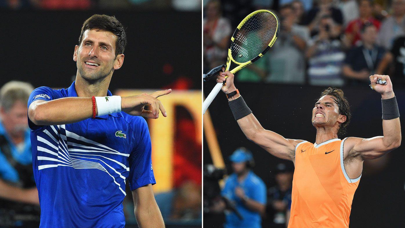 Records on line in Nadal-Djokovic Australian Open final