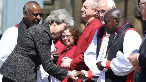 UK Prime Minister Theresa May. (AAP)