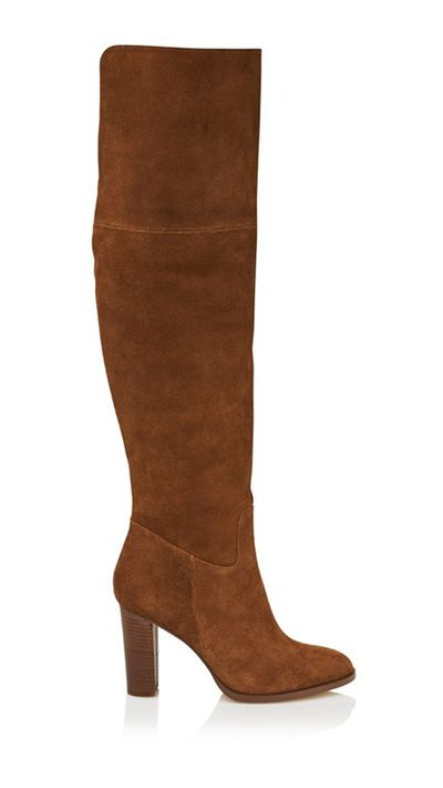 "<a href=""http://www.sportsgirl.com.au/suede-block-heel-over-the-knee-boot-natural"" target=""_blank"">Suede Block Heel Over The Knee Boot, $229.95, Sportsgirl</a>"
