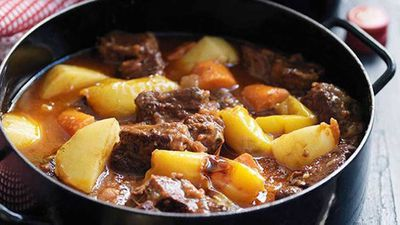"Recipe:&nbsp;<a href=""http://kitchen.nine.com.au/2016/05/16/17/02/andalucian-lamb-stew-with-saffron"" target=""_top"">Andalucian lamb stew with saffron</a>"