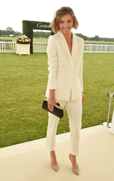 "<p>Jennifer Hawkins' Polo Tip #4</p> <p>""Crisp clean outfits like a gorgeous tailored suit also work well if you're going for an understated look.""</p>"