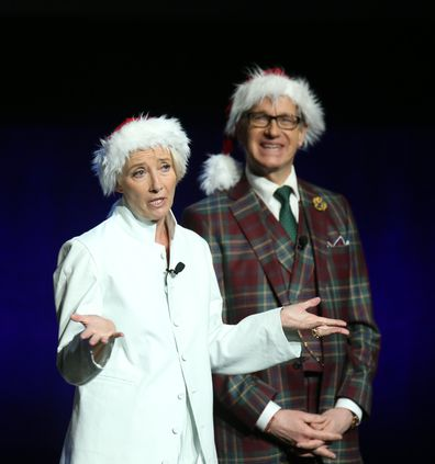 Emma Thompson and Paul Feig being absolute legends