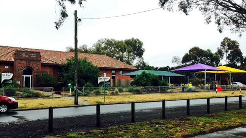 Young boy punched in throat by stranger outside Victorian primary school