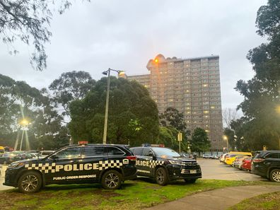 Flemington, Victoria public housing tower under immediate lockdown