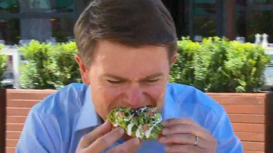 Today's Alex Cullen tries Attica's black ant tostadas