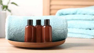 The state of California has banned tiny shampoo bottles from hotels.